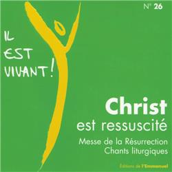 CD Il est vivant ! Christ est ressuscité - CD 26