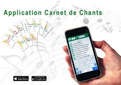 Application Carnet de chants : Il est vivant !